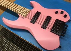 Check out this cool bass guitar!