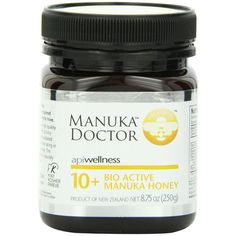 Manuka Doctor, Apiwellness, 10+ Bio Active Manuka Honey, 8.75 oz (250 g) - iHerb.com