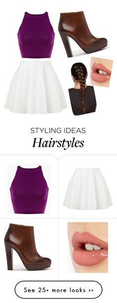 """""""Untitled #1362"""" by bucketlistdiary on Polyvore featuring Topshop and Charlotte Tilbury"""
