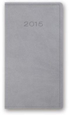 Kalendarz 2015. Kalendarz kieszonkowy A6. Model 11T - szary 12,99 merlin