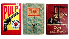 Cool idea! Turn a vintage book into a clock!
