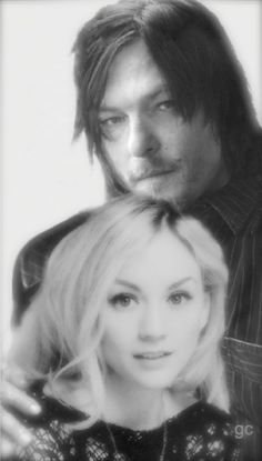 Norman Reedus Emily Kinney Daryl Dixon Beth Greene #gc Bethyl The Walking Dead Normily