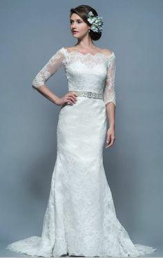 741af1921f5 White Rose Wedding Dress - La Boda Bridal I Contemporary Bridal Boutique