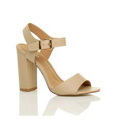 Damen Hoch Absatz Elegant Schnalle Freizeit Riemchensandalen Schuhe Größe 5 38 - http://on-line-kaufen.de/ajvani/38-eu-5-uk-damen-hoch-absatz-party-elegant-schnalle-4
