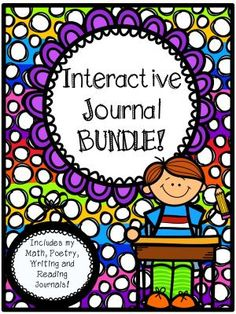 Interactive Journal Bundle from Hillary3986 on TeachersNotebook.com -  (250 pages)  - Interactive Journal Bundle
