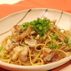 Cooking Tips, Cooking Recipes, Japanese Food, Noodles, Spaghetti, Good Food, Food And Drink, Menu, Pasta