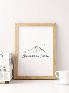Remember to Explore Digital print