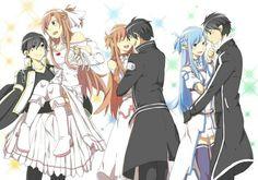 Kirito and asuna are perfect! I wanna have a good person like kirito in my life.
