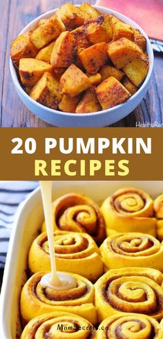 If you're a pumpkin lover just like me you're going to love these easy to make pumpkin recipes-everything from breakfast to dinner and dessert. #pumpkinrecipes Roast Pumpkin Soup, Pumpkin Curry, Vegan Pumpkin, Healthy Pumpkin, Baked Pumpkin, Quick Easy Healthy Meals, Best Healthy Dinner Recipes, Whole Food Recipes, Easy Meals
