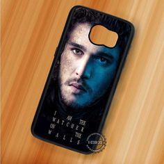 Jon Snow House Stark Game of Thrones - Samsung Galaxy S7 S6 S5 Note 7 Cases & Covers