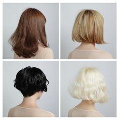 so tempted to cut off all of my hair Pretty Hairstyles, Bob Hairstyles, Hair Inspo, Hair Inspiration, Corte Y Color, Good Hair Day, Face Hair, Hair Today, Hair Dos