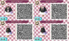 Card Captor Sakura school uniform QR code for Animal Crossing: New Leaf 3DS  #とびもり