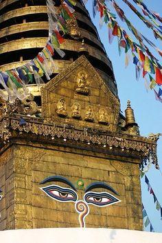 Swyambhunath (Monkey Temple) Kathmandu, Nepal