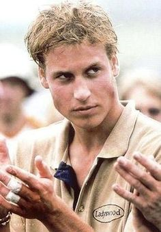 *PRINCE WILLIAM, ruggedly handsome in this photograph