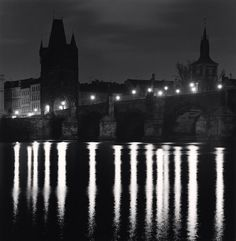 Charles Bridge, Study 10, Prague, Czech Republic | From a unique collection of black and white photography at https://www.1stdibs.com/art/photography/black-white-photography/