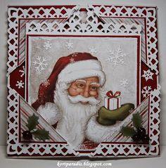 Jul Julekort Handmade Håndlaget Scrapping Scrappe NorthStarStamps Kortparadis NorthStarDesign Christmas Christmascard Christmas2014 Jul2014