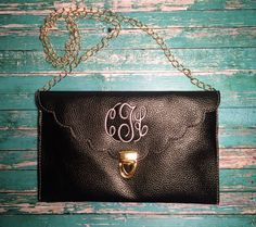 Scalloped Monogrammed Clutches from Funkykandoo. Check us out on Instagram and Facebook!