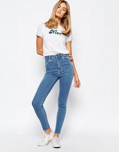 Image 4 - Rollas - Eastcoast - Jean taille haute longueur cheville