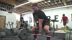 Furious Pete One handed 405 deadlift #bodybuilding #fitness #gym #fitfam #workout #muscle #health #fit #motivation #abs #fitspo