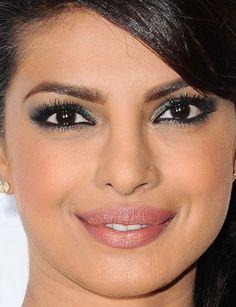 Close-up of Priyanka Chopra at the 2015 Disney ABC Summer Press Tour. http://beautyeditor.ca/2015/08/10/best-celebrity-beauty-looks-lea-michele
