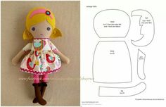 Куклы | Игрушки | Ручная работа Doll Sewing Patterns, Sewing Dolls, Doll Clothes Patterns, Tiny Dolls, Soft Dolls, Rag Doll Tutorial, Fabric Toys, Stuffed Toys Patterns, Doll Accessories