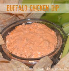 Buffalo Chicken Dip #buffalowings #buffalochickendip #spicydip #appetizers