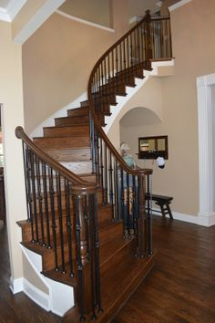 Our Stair Department Can Expertly Transition Your Carpeted Stairway To  Beautiful Hardwood Treads And Risers In Just Days.