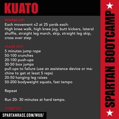 Spartan Race Workout