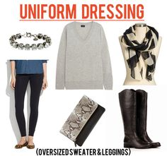 jillgg's good life (for less) | a style blog: Uniform Dressing...