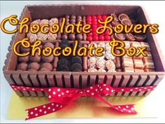 It's hard to top this amazing Chocolate Box Cake Recipe and we've included a video tutorial to show you just how easy it is to make. Chocolate Box Cake, Chocolate Lovers, Chocolate Biscuits, Gravity Cake, Ice Cake, Summer Cakes, Whipped Cream Frosting, Halloween Cakes, Candy Cakes