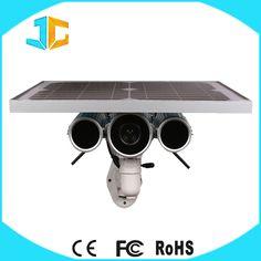 Cheap 4g sim card outdoor solar powered wireless ip camera price