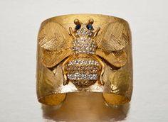 Evocateur Bumble Bee Vintage Cuff, bonconseil.us