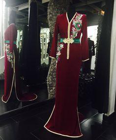 «@romeo_haute_couture @sissiavecromeo تصميم جديد على نفس ستايل قفطان ٢٠١٦ ....? كيف جاكم ...؟»