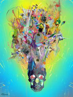 """archann:  Archan Nair - New Artwork titled """" Revival""""Website // Facebook // Instagram // Shop"""