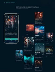 Mobile User Interface Design: Slumber App #ui #design #interface #behance