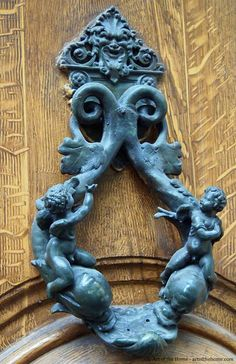 French door knockers.  Le sigh!