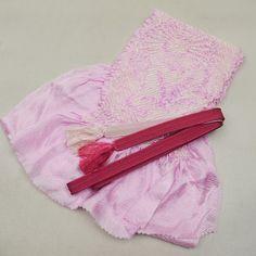 Pink purple gradation, obijime and obiage set / かすかに紫のグラデーションがかかった帯締め帯揚げセット   #Kimono #Japan http://global.rakuten.com/en/store/aiyama/