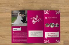 Wedding  Photography Trifold Brochure  Wedding by TemplateStock