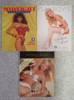 Vintage Pinup Collection • 1994 Victoria's Secret Catalog • 90s Playboy Special Collections • Mature Magazine Centerfolds • Lingerie Ads