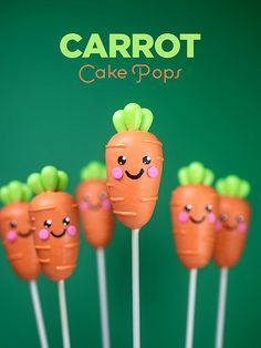 Carrot Cake Pops by Bakerella