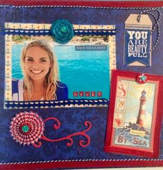Becky at Sea - Scrapbook.com