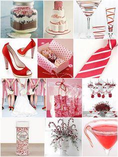 Candy Cane Wedding Inspiration by Foxy Wedding