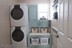 DIY weekend Laundry Room