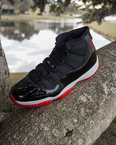 Air Jordan 11 Bred 2019 Playoffs 378037-061 Air Jordan 3, Air Jordan 11 Bred, Air Jordan Shoes, Nike Fashion, Sneakers Fashion, Mens Fashion, Jordans Sneakers, Shoes Sneakers, Jordan Fashions