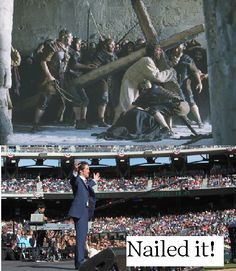 Following Jesus: Nailed It