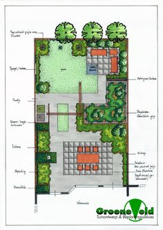 Landscape design hand drafting by alyssa erickson at landscaping pinterest - Tuinontwerp ...