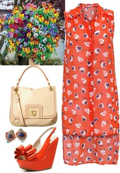 """I love Pansies!"" by musicfriend1 on Polyvore"