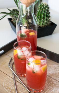 Drei zuckerfreie Erdbeerrezepte - Erdbeer-Eistee