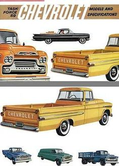 #Chevrolet 1959 - task #force 59 - chevrolet  models and #specifications,  View more on the LINK: http://www.zeppy.io/product/gb/2/222102333747/