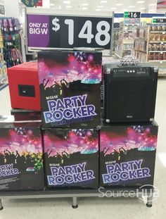 Our very own 'MiGear Party Rocker' in Big W, Australia.  -  SourceHub Group